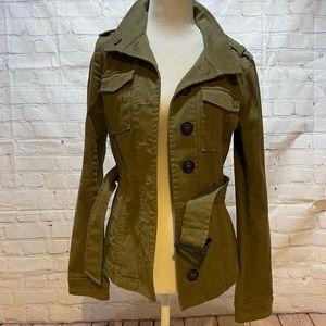 H&M army green utility jacket